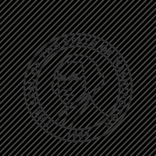 america, seal, state, state seal, state symbol, usa, washington icon