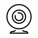 camera, movie, video, webcam icon