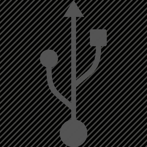 electronics, flash, memory, technology, usb icon