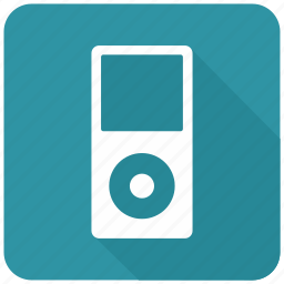 app, apple, ipod, itunes, nano icon