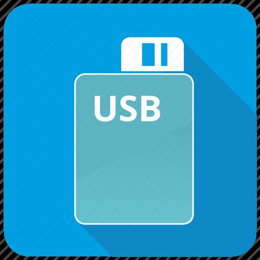 app, flash, storage, usb icon