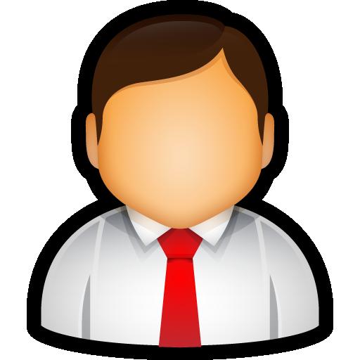 administrator, executive, tie, user icon