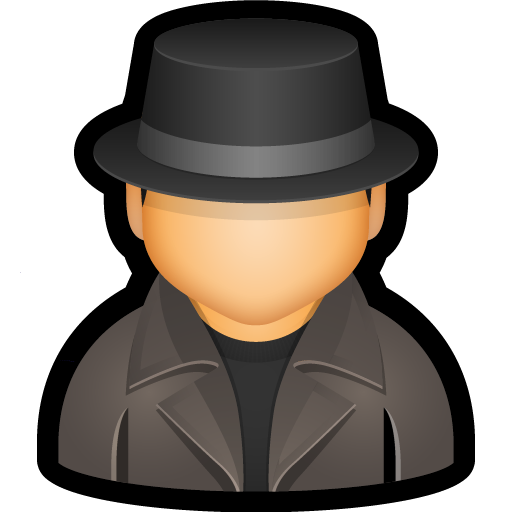 detective, enforcer, law, police, user icon