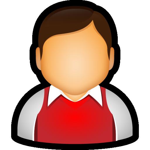 collar, preppy, student, user, vest icon