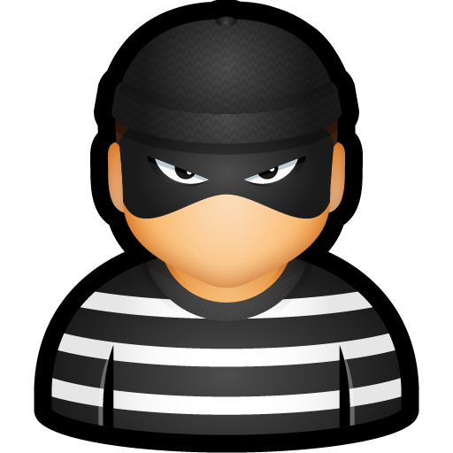 Criminal, cybercriminal, prisoner, thief, user icon - Free download