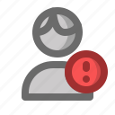 account, attention, male, man, profile, user