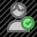account, complete, male, man, profile, user