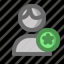 account, favorite, male, man, profile, user