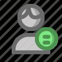 account, male, man, menu, profile, user