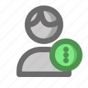 account, male, man, option, profile, user