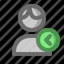 account, male, man, previous, profile, user