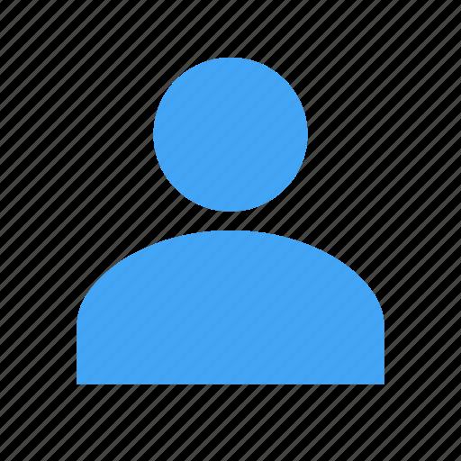 account, avatar, human, male, person, user icon