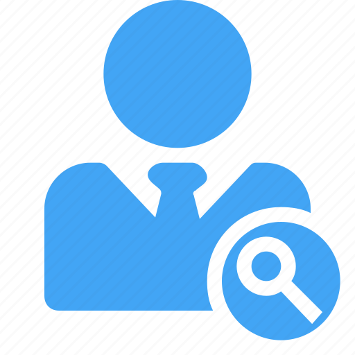 avatar, business, male, man, manager, search, user icon
