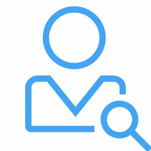 avatar, human, male, man, profile, search, user icon
