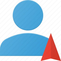 action, navigation, people, user icon