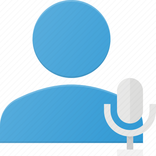 action, people, sound, user, voice icon