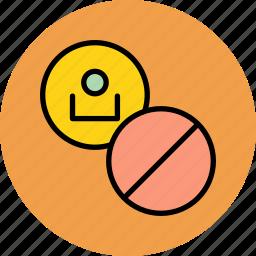 account, ban, block, close, employee, lock, user icon