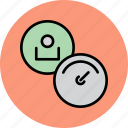 account, controls, dashboard, employee, profile, settings, user icon