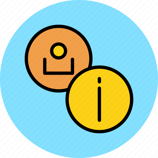 account, customer, details, employee, info, information, user icon