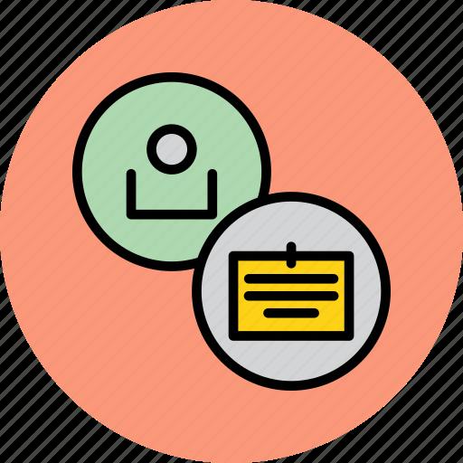account, card, customer, employee, id, identity, user icon