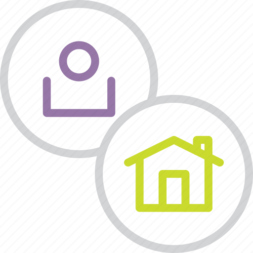 account, customer, home, page, profile, user icon