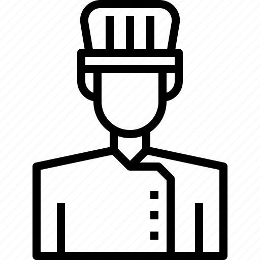 avatar, chef, male, man, people, person, user icon