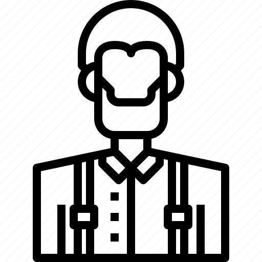avatar, lumberjack, male, man, people, person, user icon