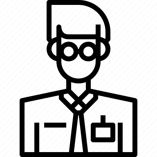 avatar, male, man, people, person, reporter, user icon