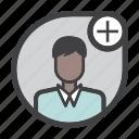 avatar, male, man, profile, user