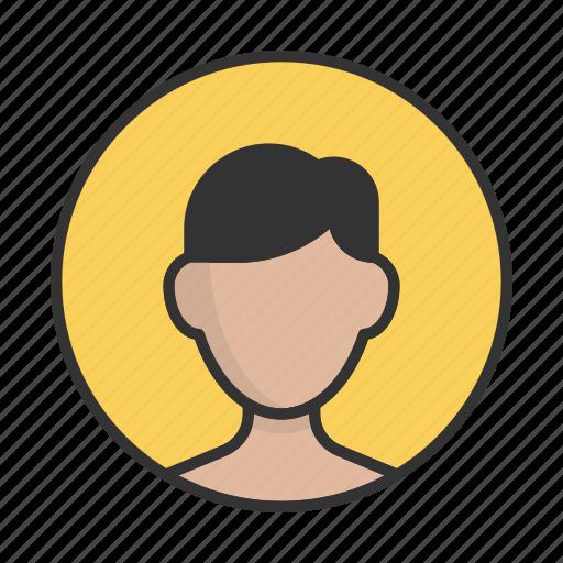 account, avatar, boy, person, profile, teen, user icon