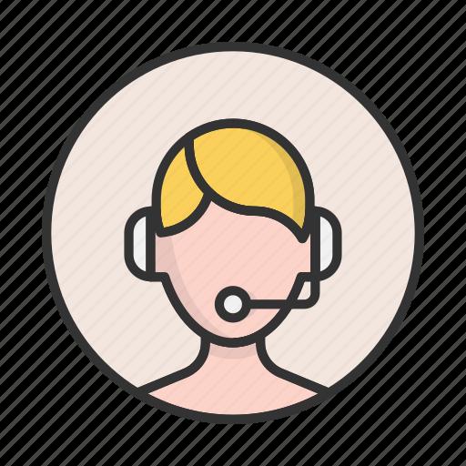 account, avatar, dispatcher, person, profile, support, user icon