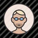 account, avatar, man, person, profile, user