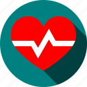 fitness, healthcare, heartbeat, measurement, medicine, pulse, sports icon
