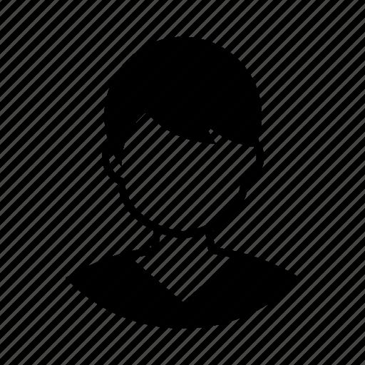 avatar, boy, member, person, profile, user, user icon icon