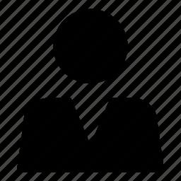 account, human, man, person, profile, user icon