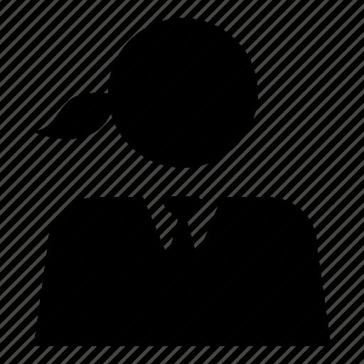 account, human, person, profile, user, woman icon