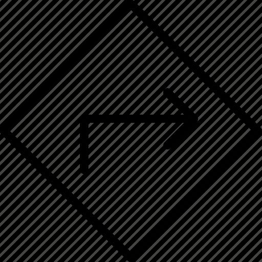 arrow, download, location, marker, move, pointer, upload icon