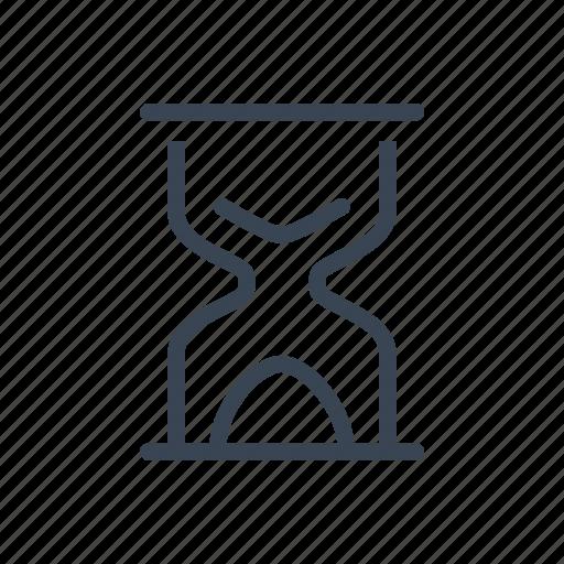 hourglass, loading, sandglass, time icon