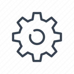 cog, gear, option, setting, settings icon