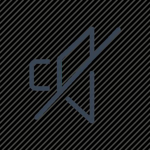 Audio, music, mute, off, sound, speaker icon - Download on Iconfinder