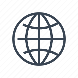 business, earth, globe, international, world icon