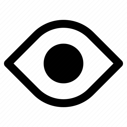 element, eye, show, user interface icon