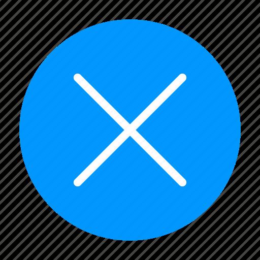 Cancel, close, cross, delete, remove, x icon - Download on Iconfinder