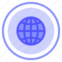global, interface, language, ui icon