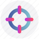 aim, focus, interface, target, user