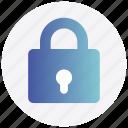 close, interface, lock, padlock, user