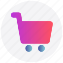buy, cart, interface, shopping, store, user icon