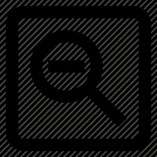 minus, search icon icon