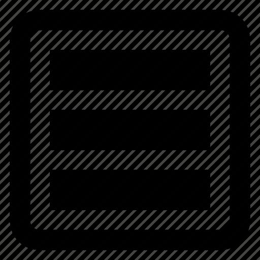 lines, multimedia option, option, setup icon