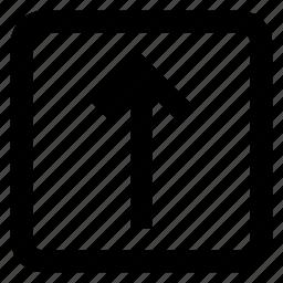 up arrow, upload, uploading, web icon